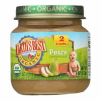 Earth's Best - Stage 2 Pears - Case of 10-4 OZ