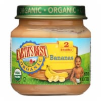 Earth's Best - Bananas - Case of 10-4 OZ - Case of 10 - 4 OZ each