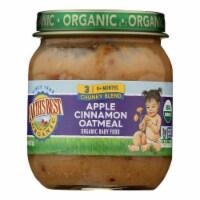 Earth's Best - Stage 3 Apple Cinnamon Oatmeal - Case of 10-4 OZ - Case of 10 - 4 OZ each