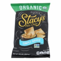 Stacy's Brand Organic Simply Naked Pita Chips  - Case of 10 - 10.25 OZ - Case of 10 - 10.25 OZeach