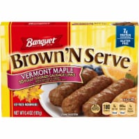 Banquet Brown and Serve Maple Sausage Link
