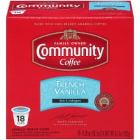Community Coffee French Vanilla Coffee Single-Serve Cups