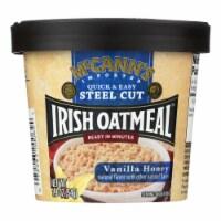 Mccann's Irish Oatmeal Instant Oatmeal Cup - Vanilla Honey - Case of 12 - 1.9 oz - 1.9 OZ