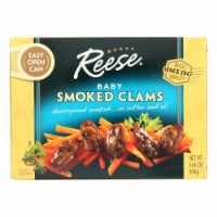 Reese Baby Clams - Smoked - 3.66 oz - Case of 10 - Case of 10 - 3.66 OZ each