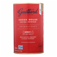 Guittard Chocolate Cocoa Powder - Unsweetened - Case of 6 - 8 oz. - 8 OZ