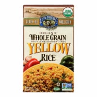 Lundberg Family Farms Organic Whole Grain Yellow Rice - Case of 6 - 6 oz. - 6 OZ