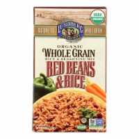 Lundberg Family Farms Organic Whole Grain Red Beans and Rice - Case of 6 - 6 oz. - 6 OZ