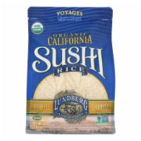 Lundberg Family Farms Organic White Sushi Rice  - Case of 6 - 4 LB