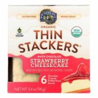 Lundberg Family Farms - Stackers White Chocolate Stw - Case of 6 - 3.4 OZ - 3.4 OZ