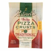 Pastorelli Pizza Crust - Ultra Thin - White - Case of 10 - 8.75 oz - Case of 10 - 8.75 OZ each
