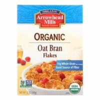 Arrowhead Mills - Oat Bran Flake - Blend Cereal - Case of 12 - 12 oz. - Case of 12 - 12 OZ each