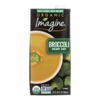 Imagine Foods Broccoli Soup - Creamy - Case of 12 - 32 oz.