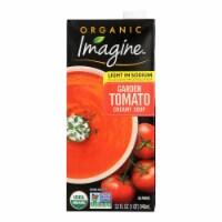 Imagine Foods Garden Tomato Soup - Low Sodium - Case of 12 - 32 Fl oz.