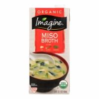 Imagine Foods Organic Miso Broth - Case of 12 - 32 Fl oz.