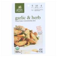 Simply Organic Vegetable Seasoning Mix - Organic - Garlic and Herb - .71 oz - Case of 12