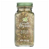 Simply Organic Herbes De Provence - Case of 6 - 0.99 oz. - 1 OZ