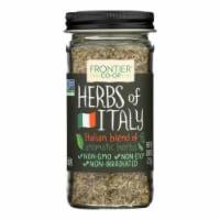 Frontier Herb International Seasoning - Herbs of Italy - Salt Free - .80 oz