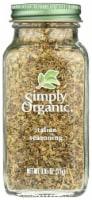 Simply Organic Italian Seasoning - Organic - .95 oz