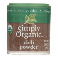 Simply Organic Chili Powder - Organic - .6 oz - Case of 6 - .60 OZ