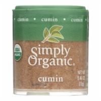 Simply Organic Cumin Seed - Organic - Ground - .46 oz - Case of 6 - .46 OZ
