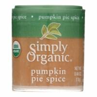 Simply Organic Pumpkin Pie Spice - Organic - .46 oz - Case of 6 - .46 OZ