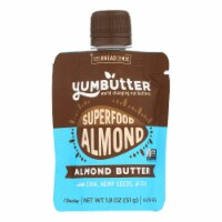 Yumbutter - Almond Butter Superfood - Case of 10 - 1.8 OZ - Case of 10 - 1.8 OZ each