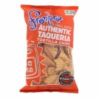 Frontera Foods Thick & Crunchy Tortilla Chip - Case of 12 - 12 oz - Case of 12 - 12 OZ each