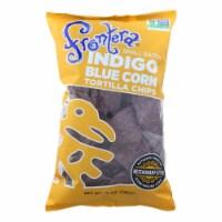 Frontera Foods Tortilla Chip - Blue Corn - Case of 12 - 10 oz