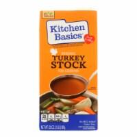 Kitchen Basics Turkey Stock - 32 Fl oz. - Pack of 3
