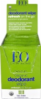 EO Essential Oil Products Organic Deodorant Wipes