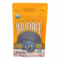 Lundberg Family Farms Organic Wild Rice - Case of 6 - 8 oz. - 8 OZ