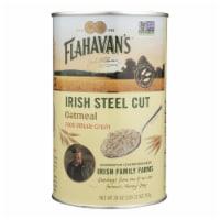 Flahavans Oatmeal - Irish Steel Cut - Case of 6 - 28 oz.