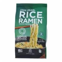Lotus Foods Ramen - Organic - Jade Pearl Rice - with Miso Soup - 2.8 oz - case of 10