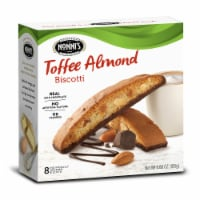 Nonnis Toffee Almond Biscotti, 8 per pack -- 12 packs per case - 5
