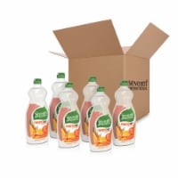 Seventh Generation Clementine Zest & Lemongrass Scent Dish Liquid