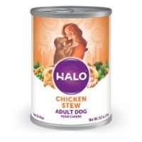 Halo Natural Chicken Stew Wet Dog Food