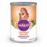 Halo Natural Senior Chicken Stew Wet Dog Food