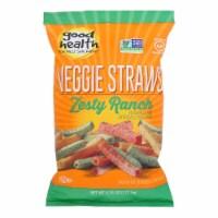 Good Health - Veggie Straws Zesty Ranch - Case of 10 - 6.25 OZ - Case of 10 - 6.25 OZ each