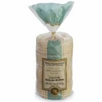 Wolfermans Original Recipe Signature English Muffin - 4 per bag -- 12 bags per case.