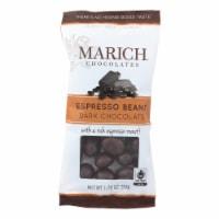 Marich Dark Chocolate Espresso Beans - Case Of 12 - 1.76 Oz - 1.76 OZ