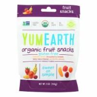 Yumearth Organics - Organic Fruit Snack - 4 Flavors - Case of 6 - 5 oz. - 5 OZ