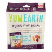 Yumearth Organics Organic - Fruit Snacks - Case of 12 - 0.7 oz. - Case of 12 - 5/.7 OZ each