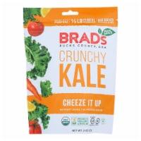 Brad's Plant Based - Crunchy Kale - Cheeze It Up - Case of 12 - 2 oz. - 2 OZ
