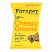 Forager Project -  Cheezy Greens Vegetable Chips- Case of 8 - 5 oz - 5 OZ