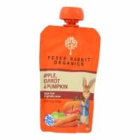 Peter Rabbit Organics Baby Food-Vegetable and Fruit Puree-Pumpkin Carrot,Apple-4.4oz-10Case - Case of 10 - 4.4 OZ each