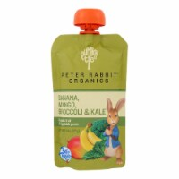 Peter Rabbit Organics Veggie Snacks-Kale Broccoli and Mango with Banana-Case of 10-4.4 oz