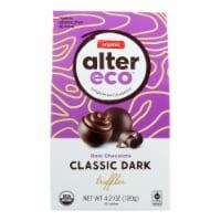 Alter Eco Americas Truffle - Organic - Black - 10 Pack - 4.2 Oz - Case Of 8 - 4.2 OZ