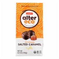 Alter Eco Americas Truffles - Salted Caramel - Case Of 8 - 4.2 Oz. - 4.2 OZ