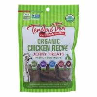 Tender & True Organic Chicken Jerky Treats  - Case of 10 - 4 OZ - Case of 10 - 4 OZ each