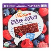 Happy Kid Fruit & Oat Bar Blueberry & Raspberry  - Case of 6 - 5/.99 OZ